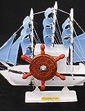 ZQ colorido vela regalos caja de música caja de música exquisita negocios velero retro , 3#