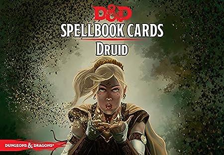 Spell Cards D&d 5e D&d Next Druid Spell Deck