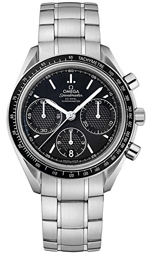 Omega Speedmaster Racing Automatic Chronograph Black Dial Stainless Steel Mens Watch 326.30.40.50.01.001 (Omega Automatic Speedmaster compare prices)