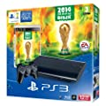 Sony PlayStation 3 12GB Console with FIFA World Cup 2014 Game (PS3)