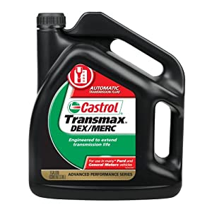 Castrol 03520 Transmax Domestic Multi-Vehicle Automatic Transmission Fluid - 1 Gallon