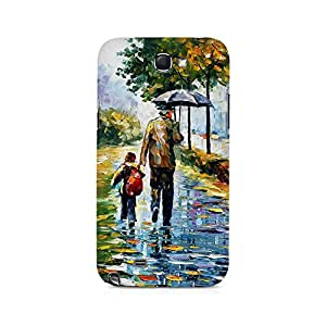 MOBICTURE Paint Abstract Premium Designer Mobile Back Case Cover For Samsung Note 2