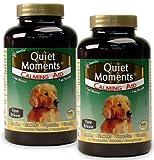 2-PACK NaturVet Quiet Moments - Calming Aid (120 Tabs)