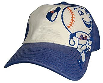 American Needle Hats - NEW YORK METS Embroidered Baseball Hat by American Needle
