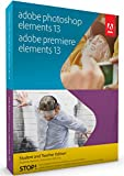 Adobe Photoshop & Premiere Elements - Student and Teacher Edition 13 [Old Version]