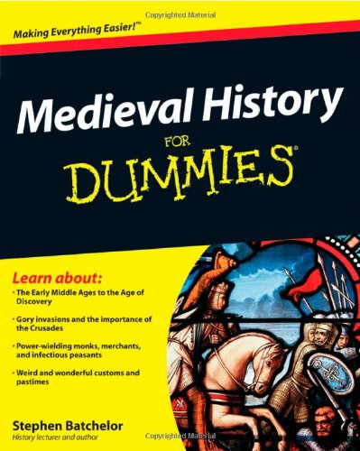 Medieval History For Dummies front-1031943