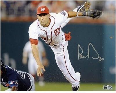 "Ian Desmond Washington Nationals Autographed 8"" x 10"" Fielding Mid Air Photograph - Fanatics Authentic Certified"