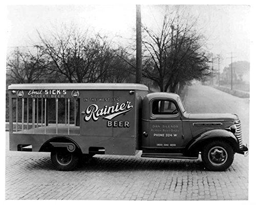 1939 GMC Rainier Beer Truck Photo Poster