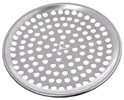 """Browne (575349) 9"""" Perforated Aluminum Pizza Tray"""