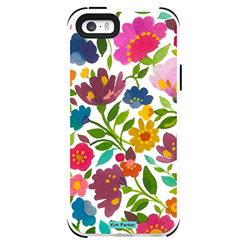Trident Case Cell Phone Case For Iphone 5/5s - Retail Packaging - Flower