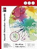 Marabu 161200023 - Malblock für Aquarellmalerei