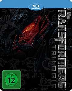 Transformers 1-3 - Novobox Steelcase [Blu-ray] [Limited Edition]