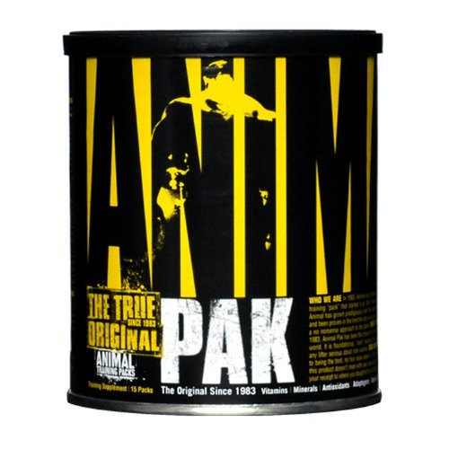 Universal Nutrition Animal Pak Packets, 15-Count Tubs