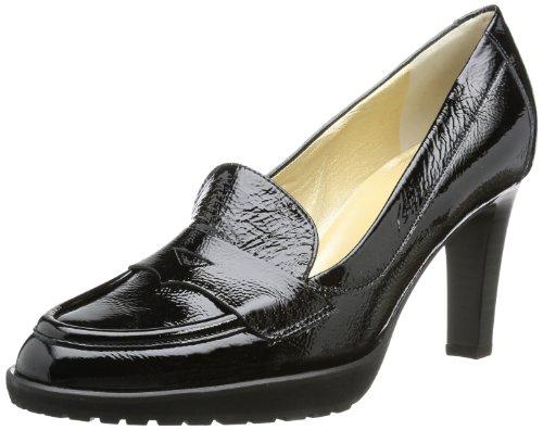 Peter Kaiser WEGA Pumps Womens Black Schwarz (schwarz Crakle) Size: 5 (38 EU)