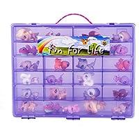 Littlest Pet Shop / Uggly Compatible Organizer Light Purple/Grape- Fun For LifeTM Is Pefect Compatible Storage...