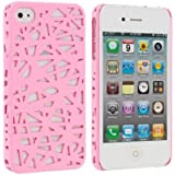 Light Pink Birds Nest Snap-On Hard Back Cover Case for Apple iPhone 4 4G 4S