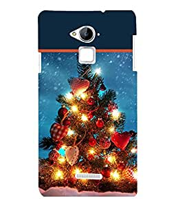 printtech Christmas Tree Hearts Back Case Cover for  Coolpad Note 3 Lite Dual SIM with dual-SIM card slots