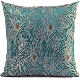 Decorative Parrot Throw Pillow Cover (One Cover)