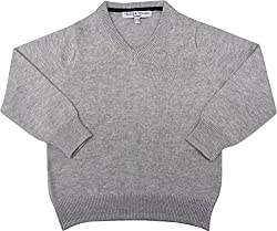 Tender Touch Baby Boys' 12-18 Months Sweater (Grey)