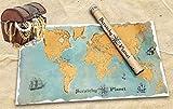 Scratchy Planet - mapamundi para rascar