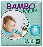 Bambo Nature Diapers - Size 5 - 108 ct