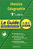 echange, troc Pierrette Chapelle - ABC du Bac : Histoire - Géographie, 1ère L - ES - S