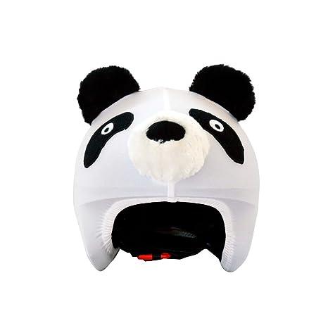 Coolcasc Animals Panda Couvre Casque Mixte Enfant, Multicolore