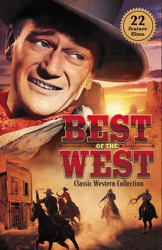 DVD : Best Of The West: Classic Western Collection (6 Discos)