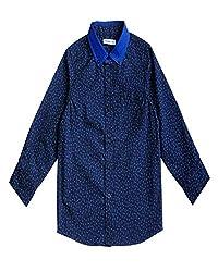 Campana Printed Navy Full Sleeve Shirt For Boys