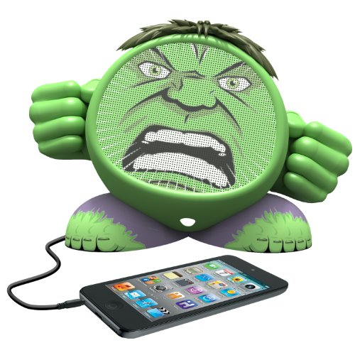 Ekids Marvel Avengers Hulk Rechargeable Character Speaker, By Ihome - Mg-M662
