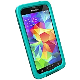Lifeproof Fre Case for Galaxy S5 - Retail Packaging - Teal/Clear/Dark Teal