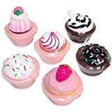 Rhode Island Novelty Cupcake Lip Gloss 12 Piece Girls Birthday Party Favors