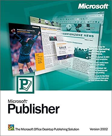 Microsoft Publisher Deluxe 2002 [Old Version]