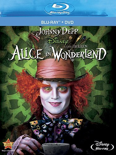 Blu-ray : Alice in Wonderland (With DVD, , Dubbed, Dolby, AC-3)