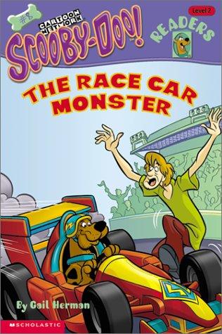 The Race Car Monster (Scooby Doo Readers #8; Level 2, Kindergarten - Grade 2)