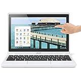 "Acer Chromebook C720P tactile 11,6"" Blanc (Intel Celeron, 4 Go de RAM, Disque dur 32 Go, Chrome OS)"
