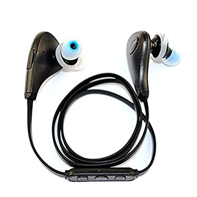 Bluetooth Headset Noise Isolating Wireless Stereo Headphones Earphones with Microphone for iPhone 6/6s 6 plus/6s plus 5 5c 5s 4s & Android 6 IOS Cell Phones Best Earbuds for Running/Sports/Gym/Selfies