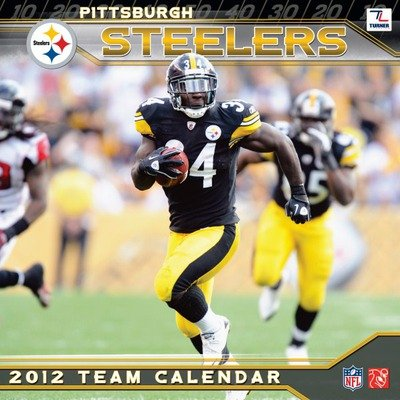 NFL Pittsburgh Steelers 2012 Wall Calendar