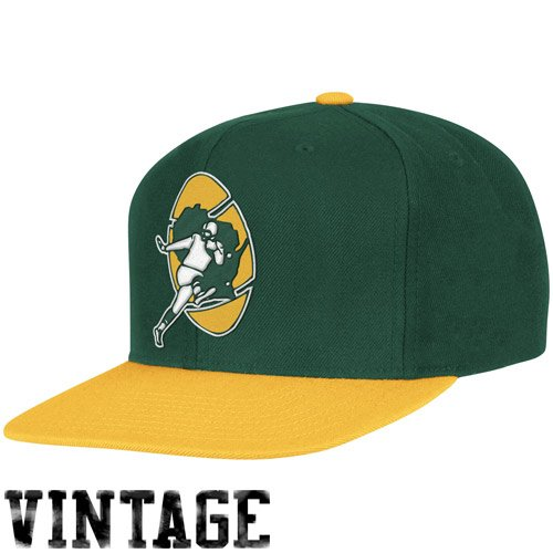 b0d0e60f NFL Mitchell & Ness Green Bay Packers Throwback XL Logo 2T - Import ...