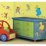 RoomMates RMK1384SCS Sesame Street Peel & Stick Wall Decals