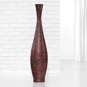 Polivaz Trumpet Floor Vase Large Embossed