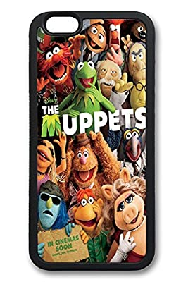 iPhone 6 Case, 6 Case - Slim Fit Case [Shock Absorbent] Soft TPU Silicone Cover for iPhone 6 Muppets Lovely Cute Anti-Scratch Case Bumper for iPhone 6 Cases