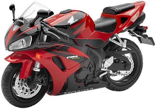 New Ray Toys Street Bike 1:12 Scale Motorcycle Honda CBR1000 Red 01913A