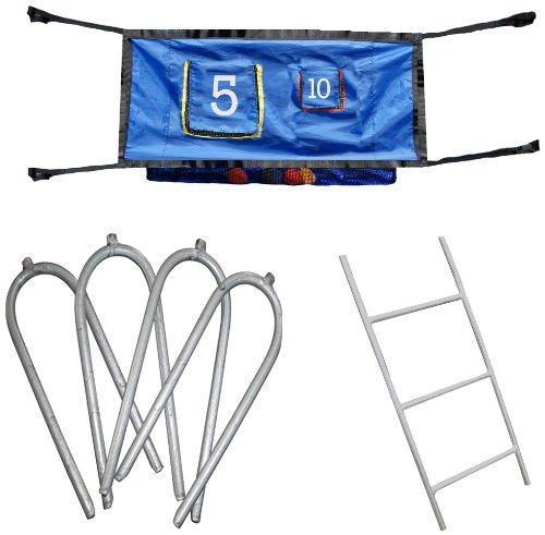 Skywalker Trampoline Accessory Game Kit With Ladder 47