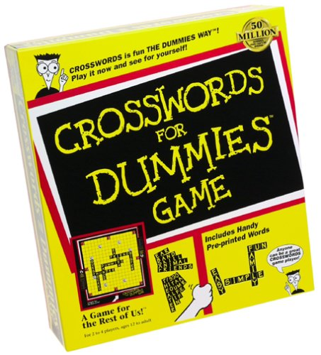 Crossword for Dummies - Buy Crossword for Dummies - Purchase Crossword for Dummies (IDG Books Worldwide, Toys & Games,Categories,Games,Board Games,Word Games)