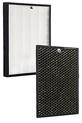Alexapure Breeze Certified Replacement Filters - 1 True HEPA Filter and 1 Activated Carbon Filter