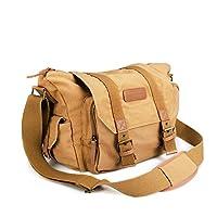BESTEK® Amazon's #1: Le sac Bestek est le meilleur accessoire pour mieux organiser votre équipement et votre appareil photo.Il a une cloison amovible, 2 à l'extérieure, compartiments à fermeture éclair avec 1 compartiment juste pour l'ipad.Une bandou...