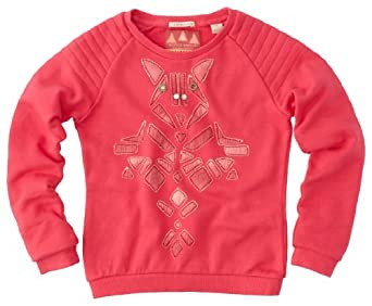 Scotch r'belle - sweat-shirt - fille - rose foncé (fuchsia) - 10