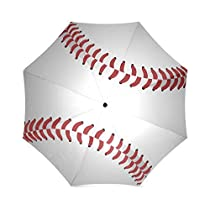 Lovers/Families/Friends Gifts New Arrival Baseball Design 100% Fabric And Aluminium High-quality Umbrella