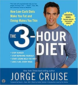"""Cover of """"The 3-Hour Diet: Lose up to 10 ..."""